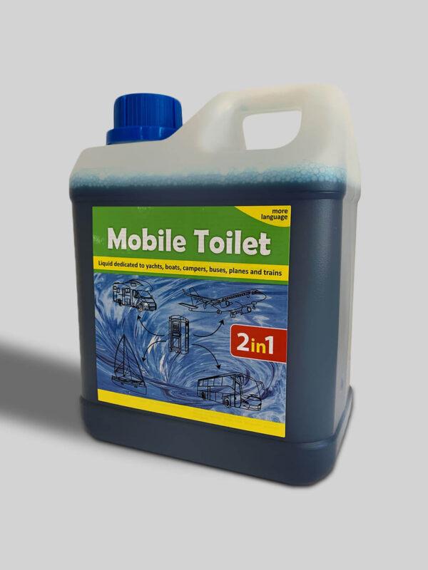 Mobile Toilet Płyn do toalet mobilnych, kamperów