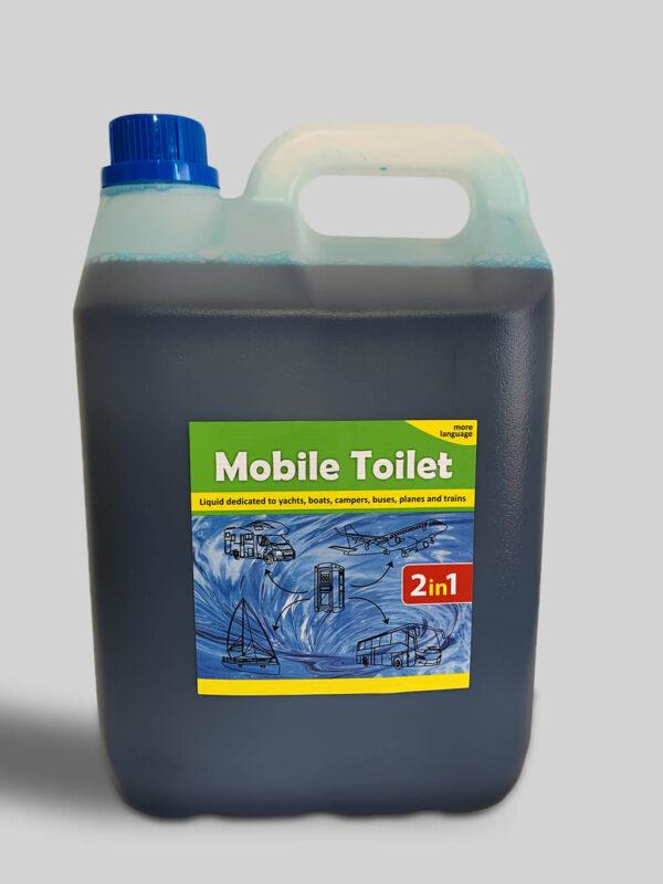 Mobile Toilet Płyn do toalet turystycznych